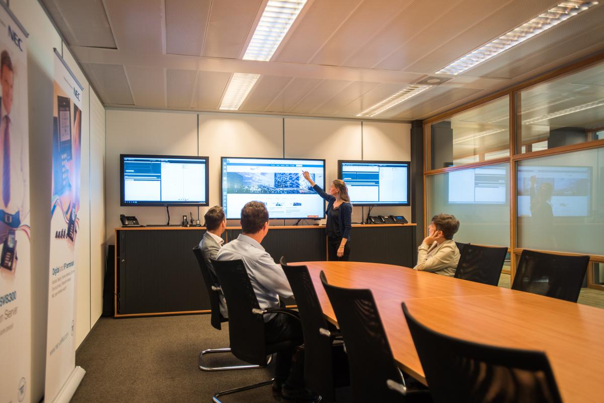 audiovisuele oplossingen zakelijke markt
